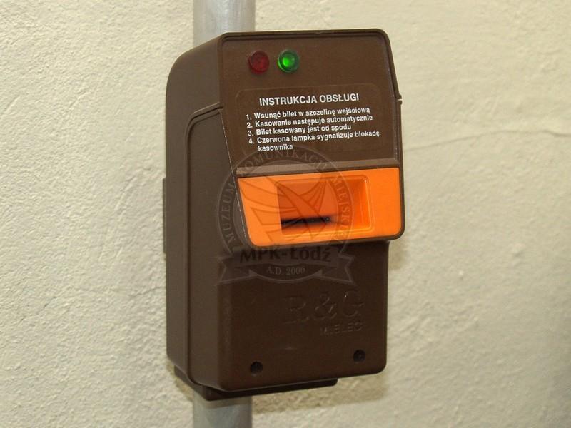 ticket validating machine